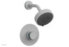 "JOLIE Pressure Balance Shower Set - Round Handle with ""Turquoise"" Accents 222-21"