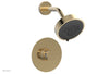 "JOLIE Pressure Balance Shower Set - Round Handle with ""White"" Accents 222-21"