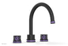 "JOLIE Deck Tub Set - Round Handles with ""Purple"" Accents 222-40"