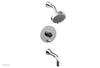 BASIC II Pressure Balance Tub and Shower Set 230-28