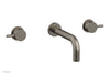 BASIC II Wall Tub Set Lever Handles 230-59