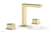 "MIX Widespread Faucet - Cube Handles 6-3/4"" Height 290-04"