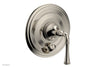 BEADED Pressure Balance Shower Plate with Diverter and Handle Trim Set 4-129