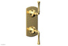 "BEADED 1/2"" Mini Thermostatic Valve with Volume Control or Diverter 4-131"