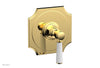"HENRI 1/2"" Mini Thermostatic Shower Trim - Satin White Handle 4-159"