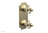 "COURONNE 1/2"" Mini Thermostatic Valve with Volume Control or Diverter 4-305"