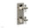 LE VERRE & LA CROSSE Thermostatic Valve with Volume Control or Diverter - Cross Handles 4-392