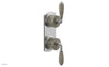 VALENCIA - Thermostatic Valve with Volume Control or Diverter, Beige Marble Lever Handles 4-453D