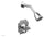 COURONNE Pressure Balance Shower and Diverter Set (Less Spout) 4-474