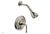 BEADED Pressure Balance Shower and Diverter Set (Less Spout), Lever Handle 4-481