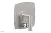 RADI Pressure Balance Shower Plate with Diverter and Handle Trim Set 4-517
