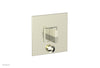 DIAMA Pressure Balance Shower Plate with Diverter and Handle Trim Set 4-561