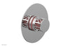 "JOLIE - Thermostatic Shower Trim, Round Handle with ""Pink"" Accents 4-592"