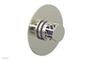 "JOLIE - Thermostatic Shower Trim, Round Handle with ""Purple"" Accents 4-592"