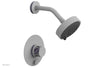 "JOLIE Pressure Balance Shower and Diverter Set (Less Spout), Round Handle with ""Purple"" Accents 4-677"