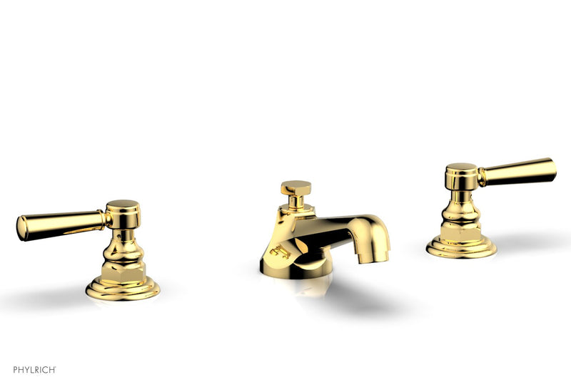 Shop Hex Traditional Widespread Faucet W Lever Handles