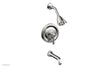 HEX TRADITIONAL Pressure Balance Tub and Shower Set 500-27