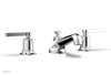 HEX MODERN Widespread Faucet Low Lever Handles 501-02