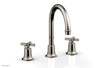 HEX MODERN Widespread Faucet with Cross Handles 501-03