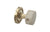 BEIGE MARBLE Door Knob & Rose 5070