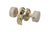 BEIGE MARBLE Door Knob Passage Set 5072