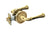 BEADED Door Lever Passage Set 5252