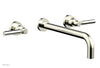"Basic Wall Tub Set 12"" Spout - Lever Handles D1130-12"