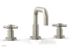 "BASIC Widespread Faucet, 6 3/8"" High Spout, Tubular Cross Handles D136"