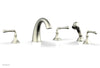3RING Deck Tub Set with Hand Shower D2205E1