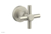 BASIC Volume Control/Diverter Trim - Tubular Cross Handle D2PV134A