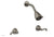 REVERE & SAVANNAH Two Handle Shower Set D3102