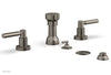 BASIC Four Hole Bidet Set - Lever Handles D4130