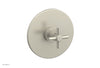 BASIC Pressure Balance Shower Set Trim Only - Tubular Cross Handle DPB3134TO
