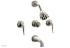 GEORGIAN & BARCELONA Three Handle Tub and Shower Set K2141