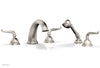 GEORGIAN & BARCELONA Deck Tub Set with Hand Shower - Lever Handles K2141P1