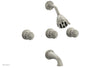 GEORGIAN & BARCELONA Three Handle Tub and Shower Set K2361