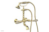 VALENCIA Exposed Tub & Hand Shower - Beige Marble Lever Handle K2393-41