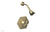 LE VERRE & LA CROSSE Pressure Balance Shower Set - Cross Handle PB3171