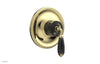VALENCIA - Thermostatic Shower Trim, Black Marble Lever Handle TH338C