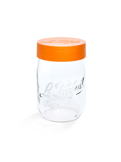 Le Parfait Orange Screw Top Jars