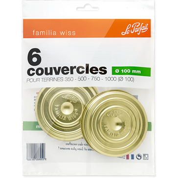 Le Parfait Familia Wiss Screw Caps 100mm