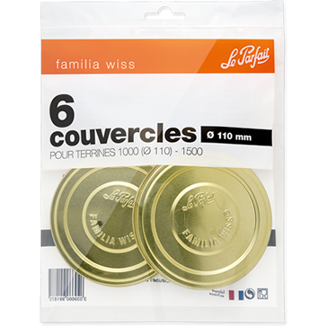 Le Parfait Familia Wiss Screw Caps 110mm