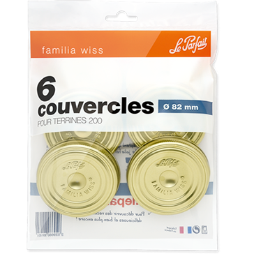 Le Parfait Familia Wiss Screw Caps 82mm