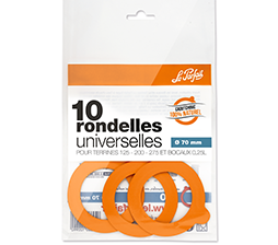 Le Parfait Super Rubber Seals  70mm