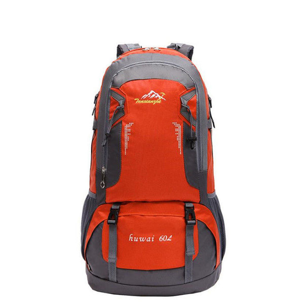 60 L Waterproof Hiking Backpack - Go Outdoor Life
