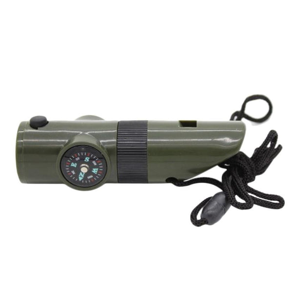 7 in 1 Emergency Whistle - Go Outdoor Life