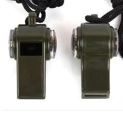 3 in 1 Outdoor Emergency Whistle - Go Outdoor Life