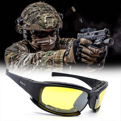 4 Lens Kit Military Sunglasses - Go Outdoor Life