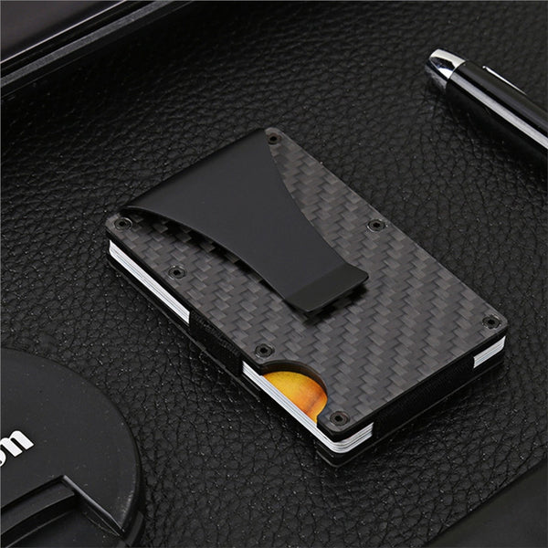 Carbon Fiber Credit Card Holder - Go Outdoor Life