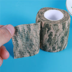 Self-Adhesive Telescopic Camouflage Tape - Go Outdoor Life